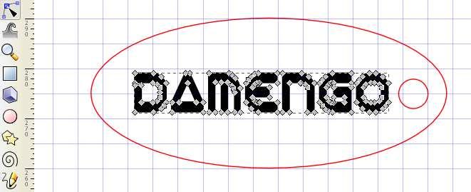 Inkscape édition des noeuds du texte